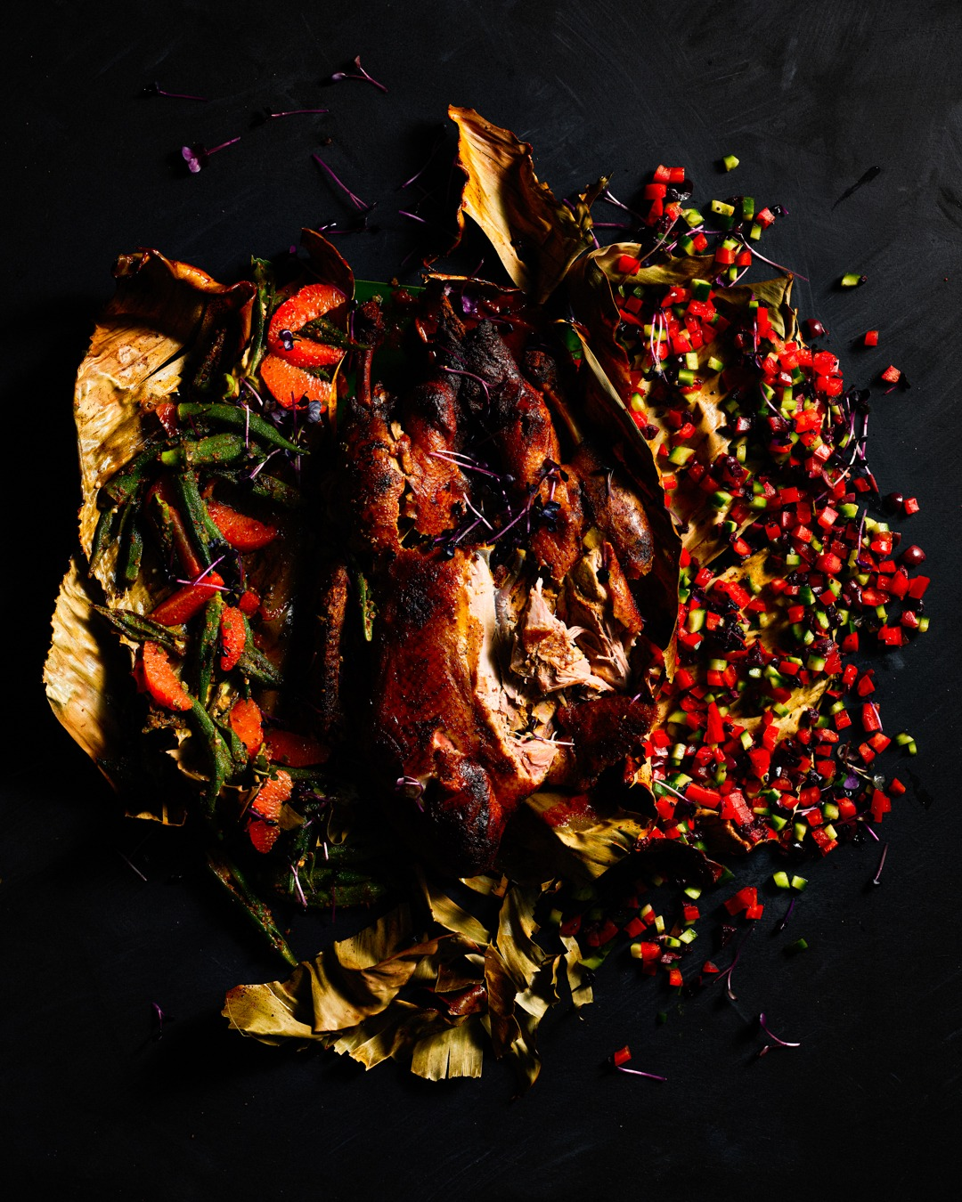 YUCATEAN ROAST DUCK WITH PIBIL SAUCE